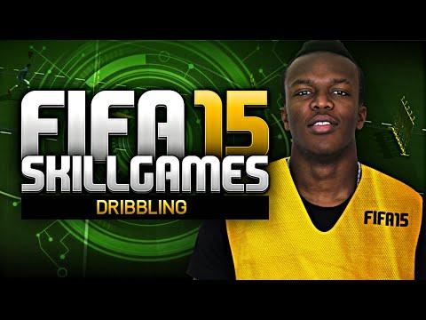 FIFA 15 SKILL GAMES - DRIBBLING