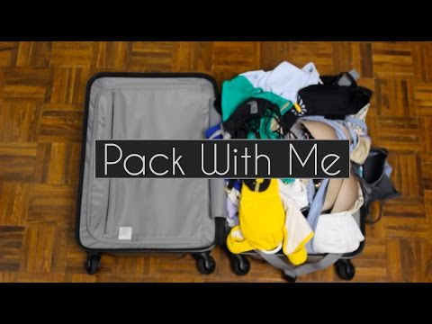 Pack With Me: Travel Light | Carry On Challenge |  Minimalist Tips ◌ alishainc X MUJI ad