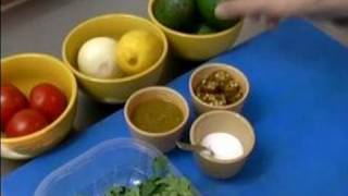 Traditional Mexican Recipes : Ingredients For Making Traditional Guacamole