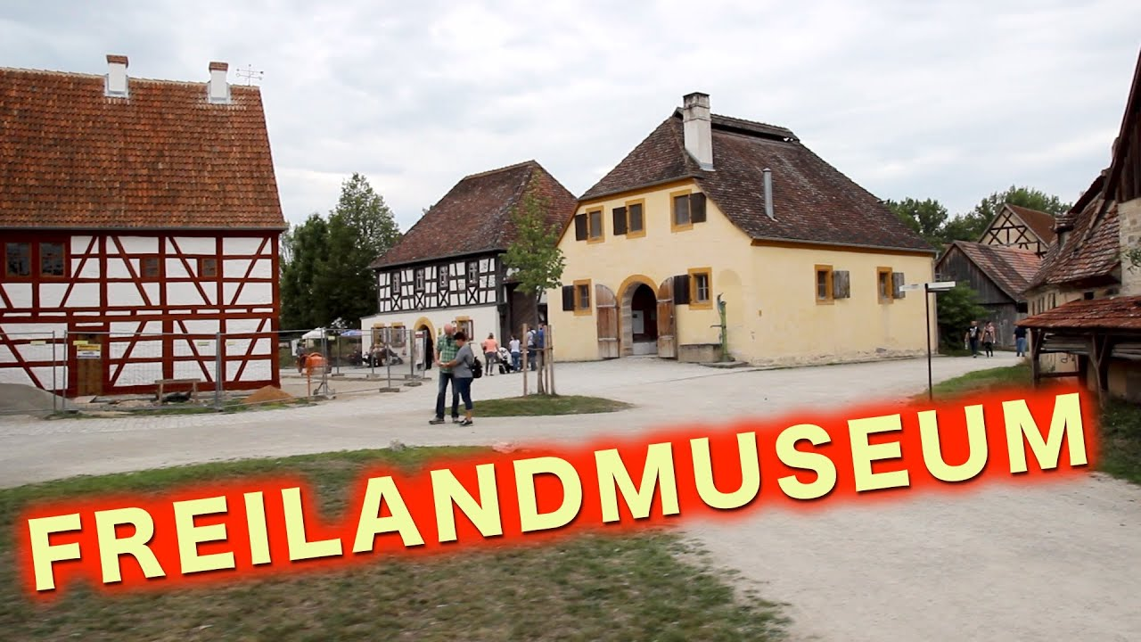 old german houses at freilandmuseum bad windsheim a german life 11 youtube. Black Bedroom Furniture Sets. Home Design Ideas