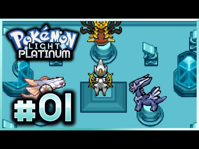 Lets Play Pokemon: Light Platinum - Part 1 - Welcome to Zhery!