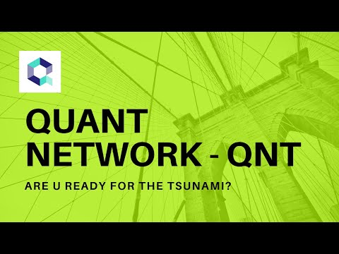 QUANT NETWORK – QNT – One of THE MOST Undervalued Cryptocurrencies! QNT Crypto: Destination? MOON!!!