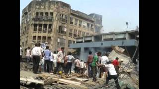 CCTV Coverage of collapsed under construction Flyover in Burrabazar area of Kolkata