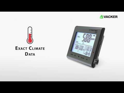 Air Quality Data Logger - Measures Temperature, Humidity, Co2 Level.