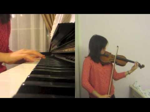 Let it Go Violin/Piano Cover(Frozen-Idina Menzel)