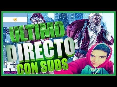 Despidiendome Del 2017   DIRECTO DE GTA V ONLINE!!! Con Suscriptores!!! (Argentina) (Ps4)