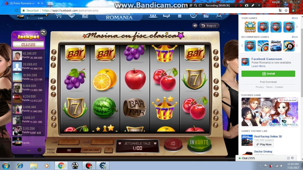 Poker romania facebook hack casino de paris la grande revue