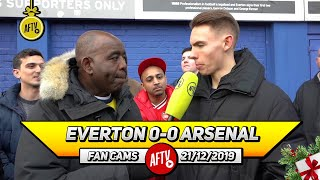 Everton 0-0 Arsenal | Why Did It Take The Board So Long To Appoint Arteta?