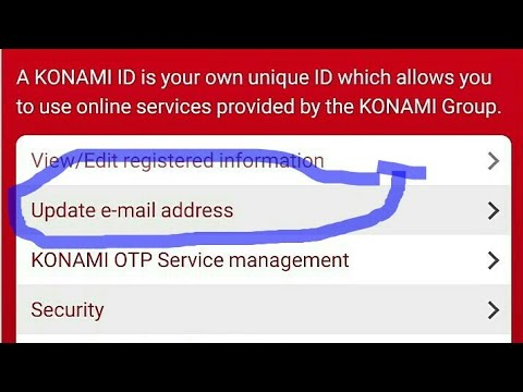 #pes How to change the registered email address in PES? updating the  registered email address