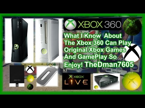 How To! Xbox 360 Slim Can Play Original Xbox Games What I Know!!!! 🎮 (2015)