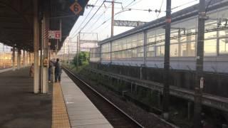 JR西日本・東海米原駅13000系甲種輸送通過 牽引EF65-2070