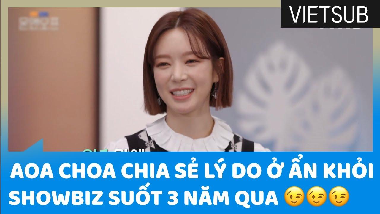 AOA ChoA Chia Sẻ Lý Do Ở Ẩn Khỏi Showbiz Suốt 3 Năm Qua 😉😉😉 #OnAndOff 🇻🇳VIETSUB🇻🇳