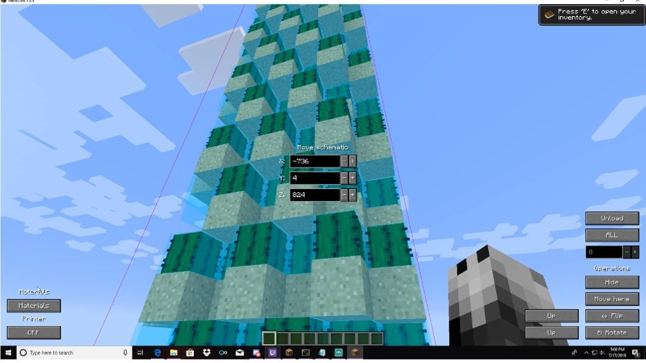 Minecraft: How To Download and Use Schematica