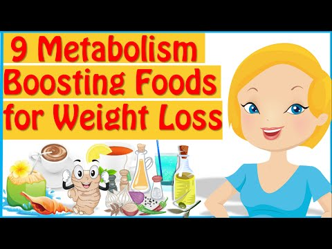 9 Metabolism Boosting Foods, Metabolism Boosters