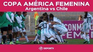 #VamosArgentina - Argentina vs Chile - Copa América femenina Chile 2018