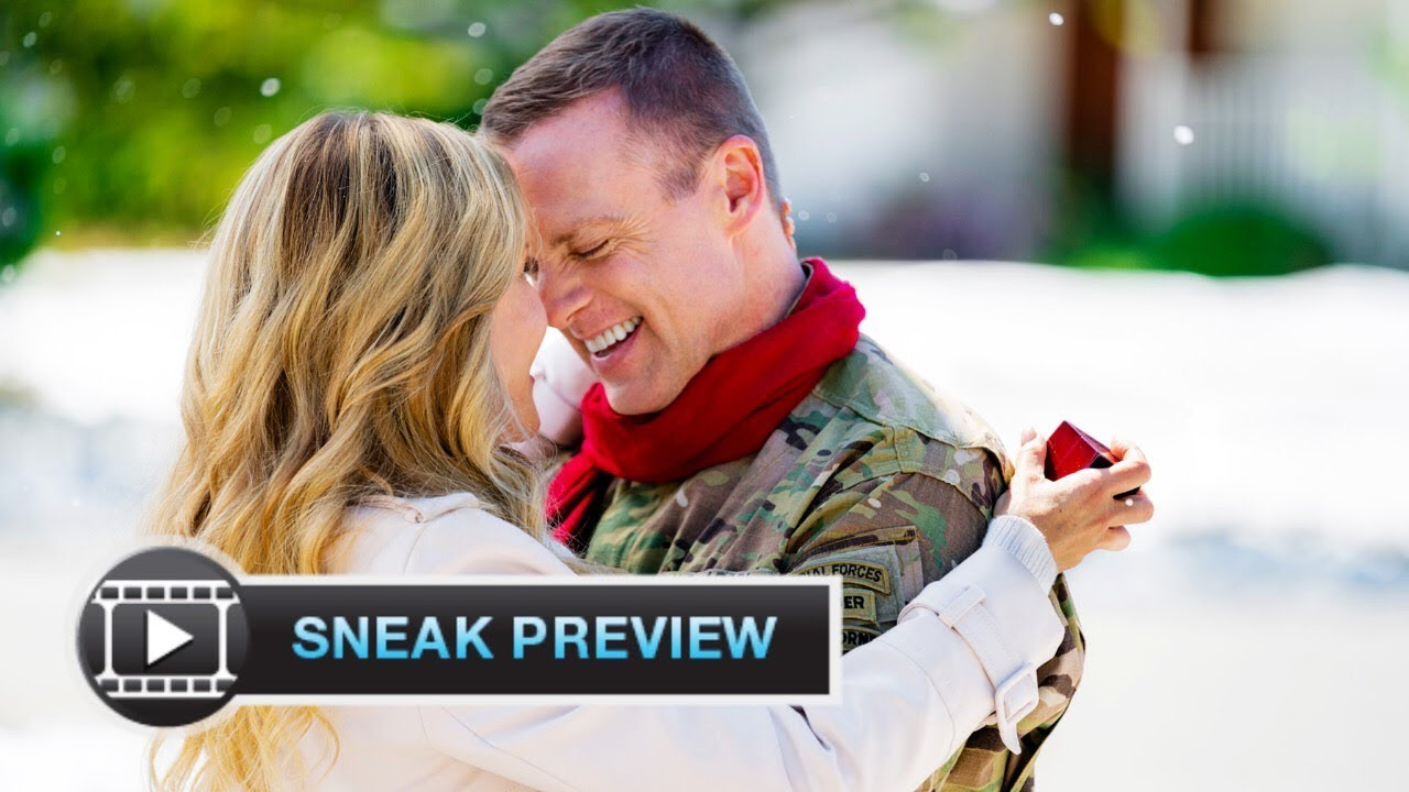 Christmas Homecoming Cast.Christmas Homecoming Exclusive Sneak Peek Julie Benz Michael Shanks Hallmark Movies Mysteries