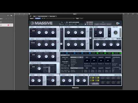 How to make Bassnectar's Bass Head in Massive