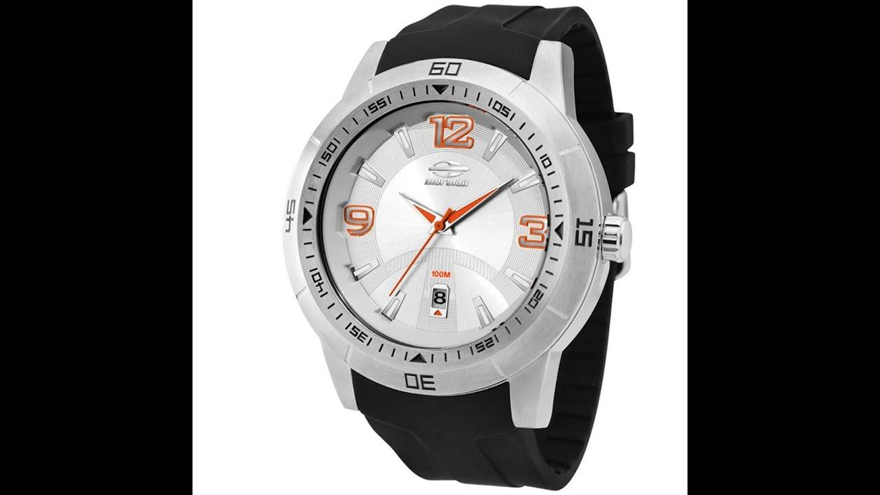 Relógio Masculino Mormaii Mo2315 Analógico Calendário 10 ATM - Giga Store -  YouTube 44df399dcf