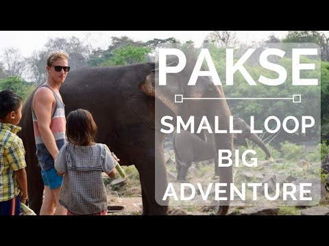Visiting The Local Village In Laos - Small Pakse Loop