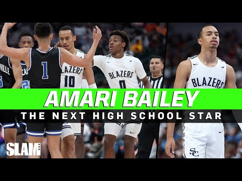 Amari Bailey is the NEXT High School Star! Combo Guard from Chicago ????