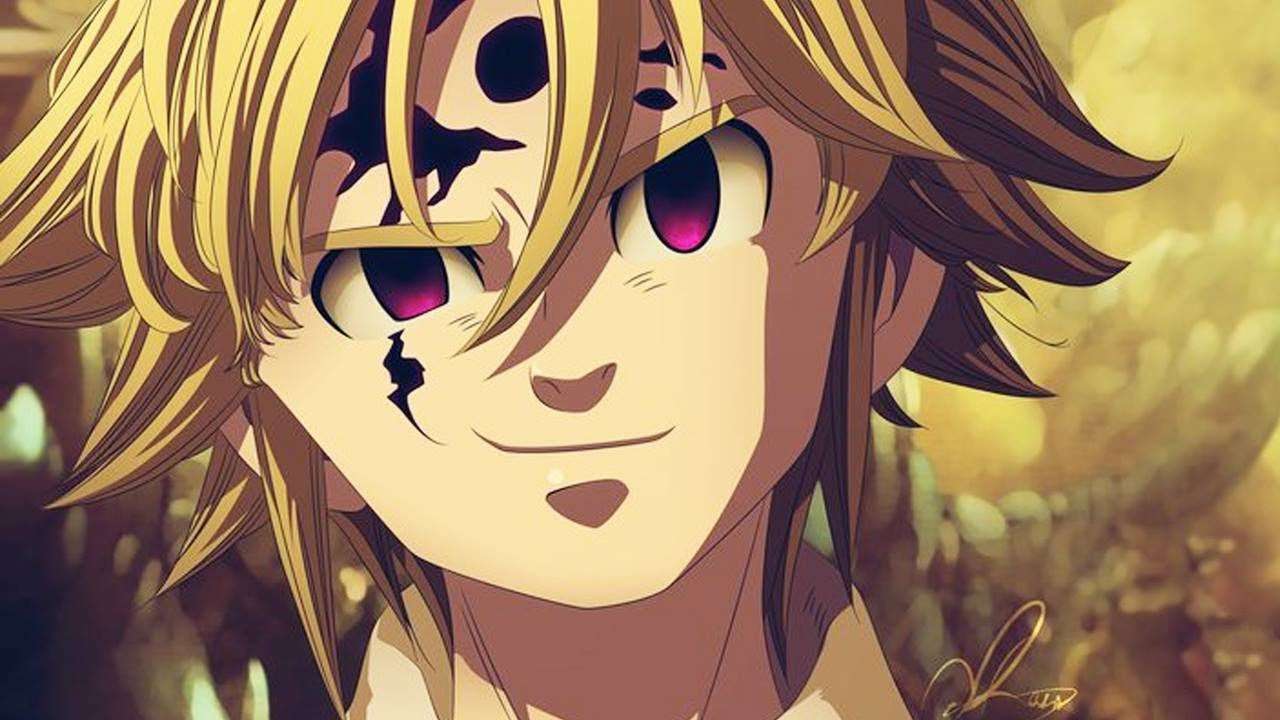 Wallpaper Meliodas Demon Mode: Nanatsu No Taizai 2017