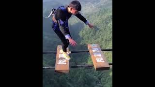 Funny Clips From A 500-Foot-High Bridge In China