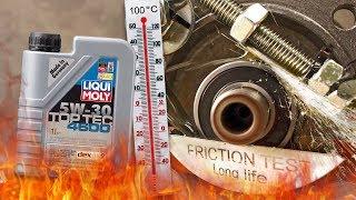 Liqui Moly top tec 4600 5W30 Jak skutecznie olej chroni silnik? 100°C