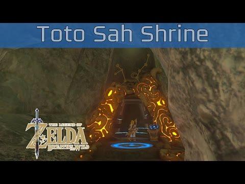 The Legend Of Zelda: Breath Of The Wild - Toto Sah Shrine Walkthrough [HD 1080P]