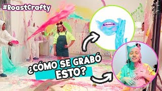 DETRÁS DE CÁMARAS ROAST YOURSELF CRAFTINGEEK | Así se grabó TODO!  ✄ Craftingeek