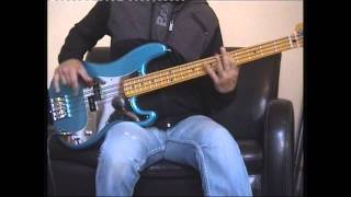 Iron Maiden - Invaders Bass cover