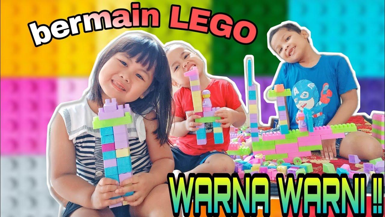 LEGO Anak Besar Warna Warni   Membuat Kapal Laut dan ...