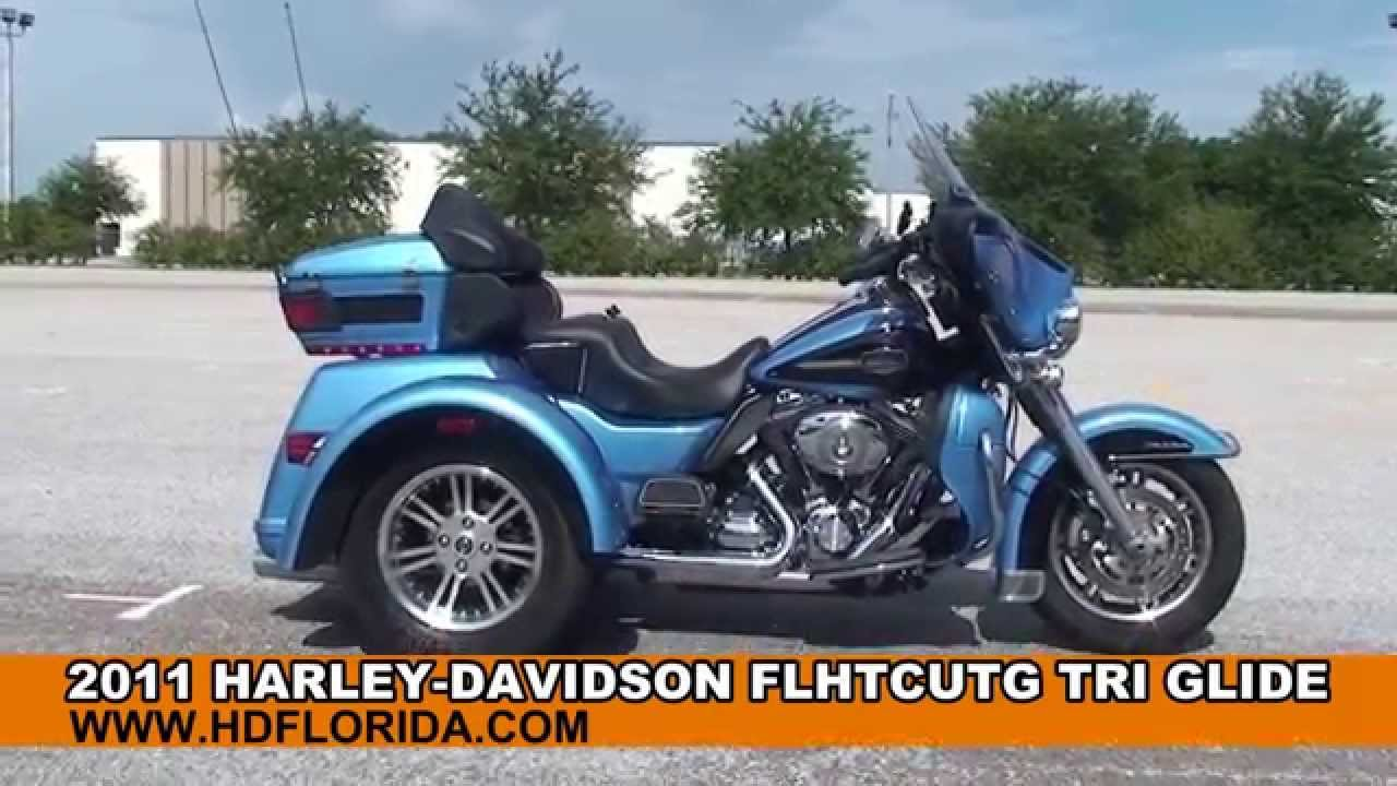 Used 2011 Harley Davidson Tri Glide Trike for sale in Lakeland, FL