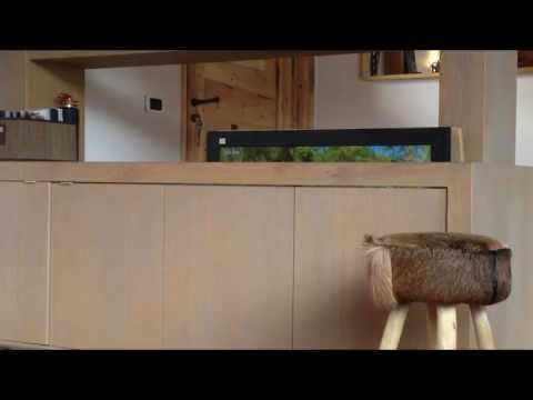 Meuble tv motoris mp4 youtube - Meuble pour cacher tv ...