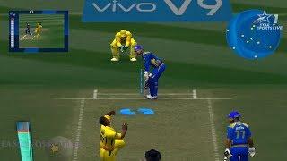 Chennai Super Kings vs Mumbai Indians - 5 Overs IPL Match 2018 Part 1 - EA CRICKET 18 PC Gameplay