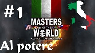 Geopolitical Simulator 3 Italia: #1