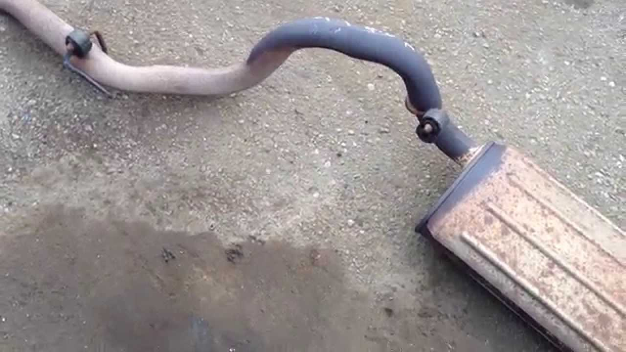 1999 jeep wrangler tj 4 0 stock oem auto complete exhaust with cat and muffler [ 1280 x 720 Pixel ]
