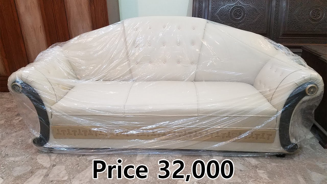 5 Seater Sofa White Leather Sofa Set Price In Pakistan Rs 32 000