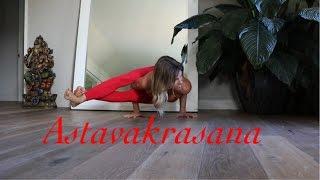 Yoga For Dummies:  Astavakrasana (Eight Angle Pose)