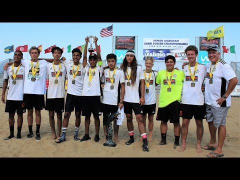 SoCal Legacy winning the 2017 North American Sand Soccer Championships