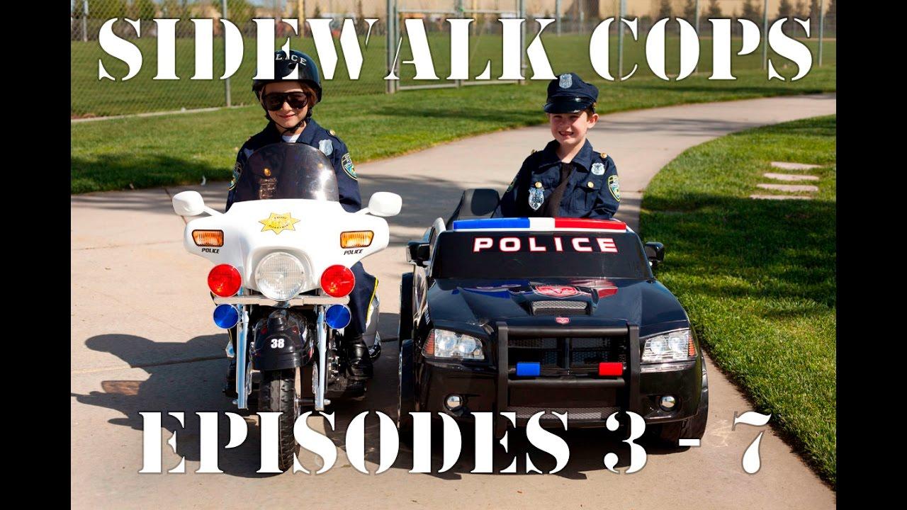 Download Sidewalk Cops Compilation Video - Episodes 3 - 7 (The Litterer - Superman Texting)