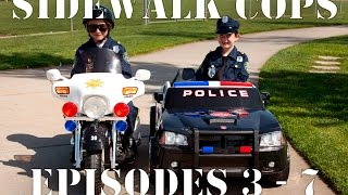 Repeat youtube video Sidewalk Cops Compilation Video - Episodes 3 - 7 (The Litterer - Superman Texting)