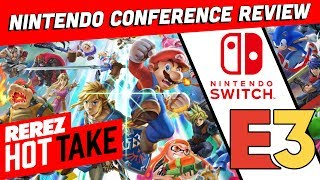 Nintendo's Worst Conference? E3 2018 Review! - Hot Take Game News