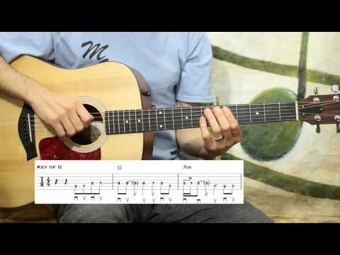 You Ain't Going Nowhere (Easy Chair) - Guitar Lesson
