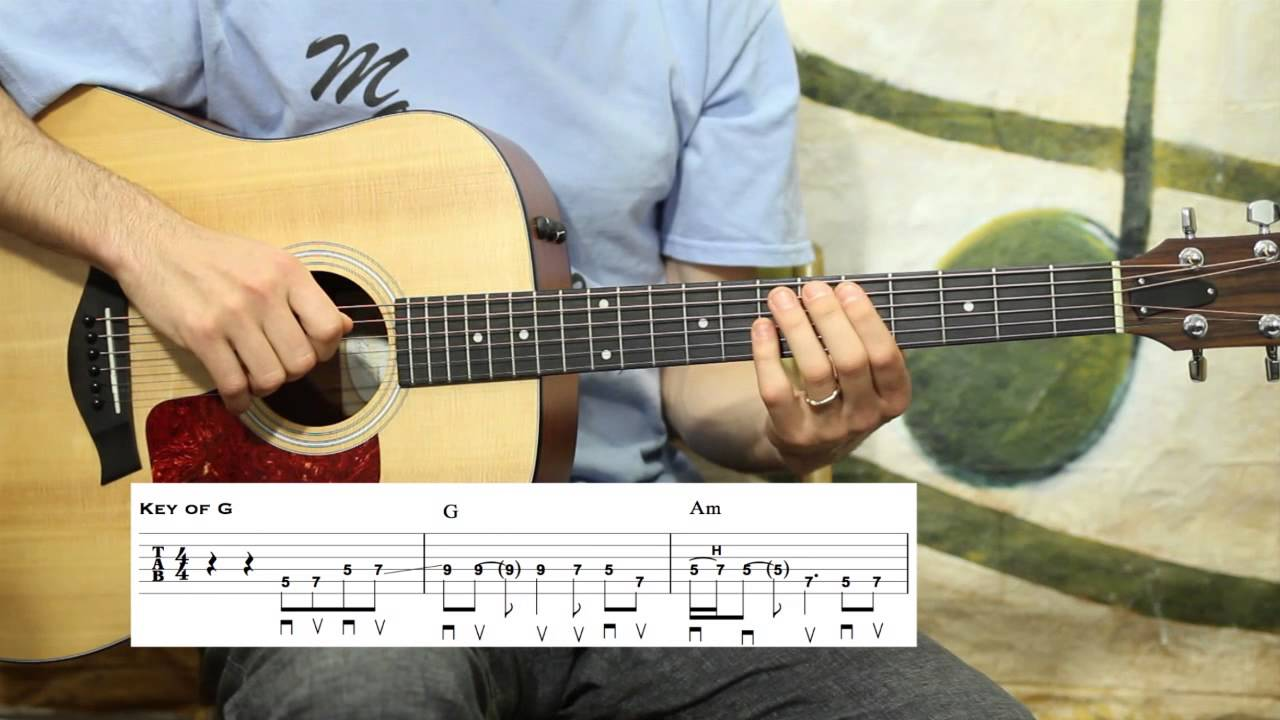You Ain't Going Nowhere Easy Chair   Guitar Lesson