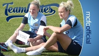 TEAMMATES: Chelsea Nightingale & Steph Houghton