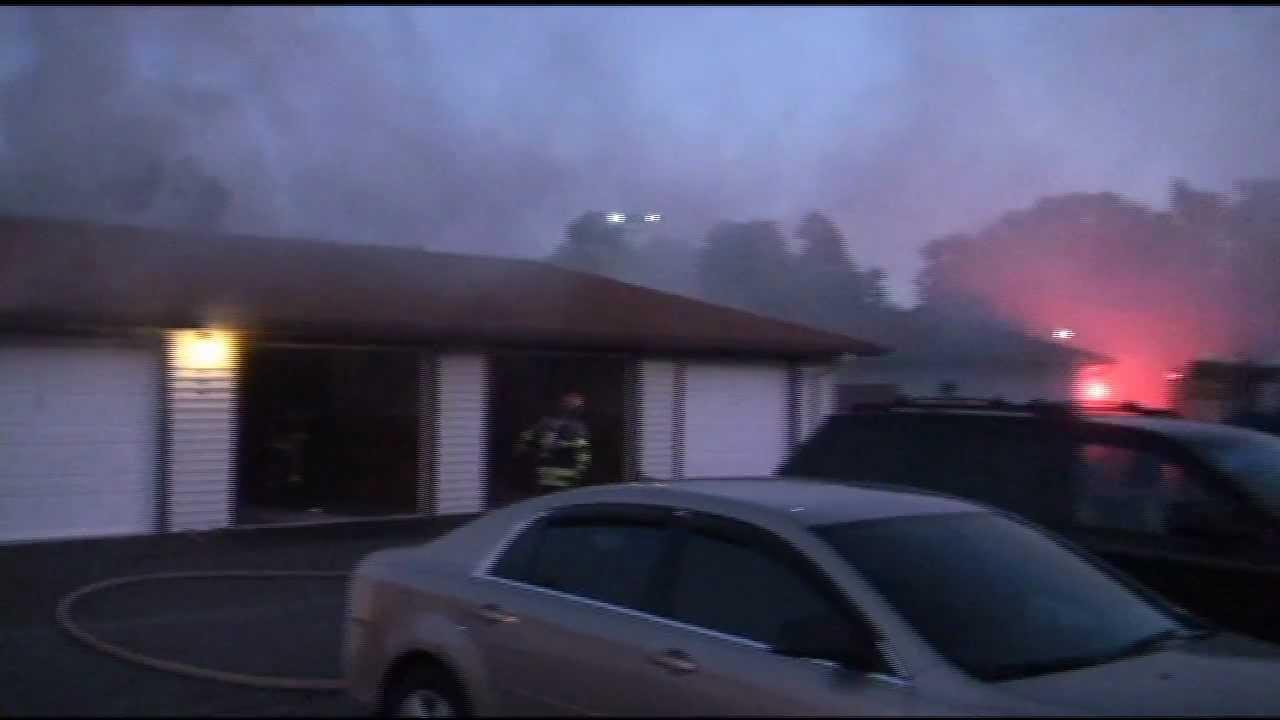 Wonderful Fire At Bristol Gardens In Decatur, IL Pictures
