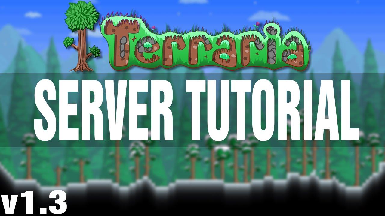 How to setup a terraria linux server.