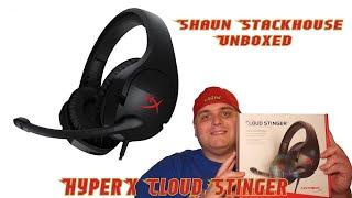 Hyper X Cloud Stinger Unboxing