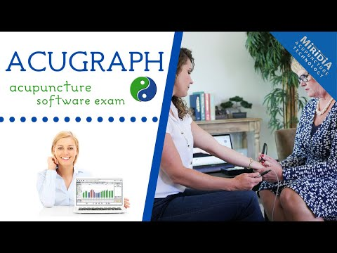 AcuGraph Acupuncture Software Exam Demonstration
