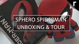Sphero Spiderman Unboxing, Setup and Review